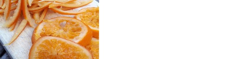 oranges confites,biologique,fait maison